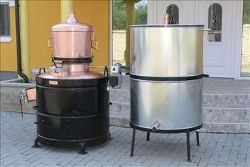 Kazan za pečenje rakije od 120 do 350 lit