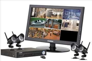 Kamere, video nadzor, alarmi, interfoni
