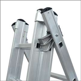 Aluminijumske merdevine 3x14 gazišta