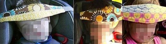 Držač glave za dečje autosedište - traka za glavu