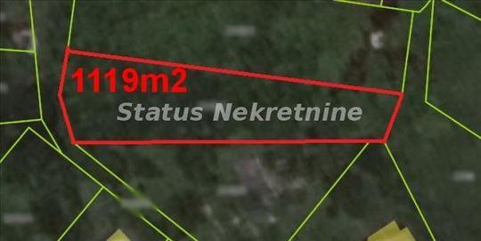 *SUPER POVOLJNO* LEP VISINSKI PLAC 1200 m2 U RAKOV