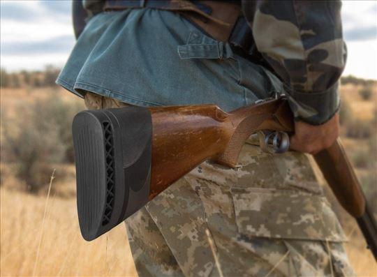 Navlaka/amortizer za kundak lovačke puške - crna