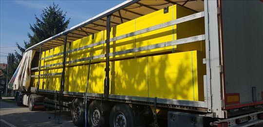 Žuta oplata za šalovanje, novo