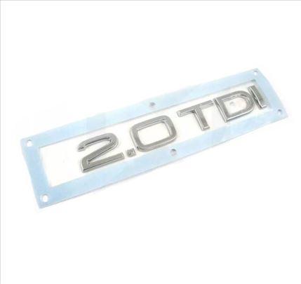 2.0 TDI znak Audi