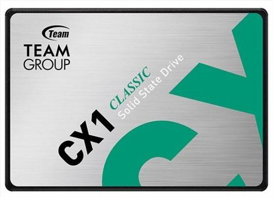 "TeamGroup 2.5"" 240GB SSD SATA3 CX1 7mm 520/430 MB/"