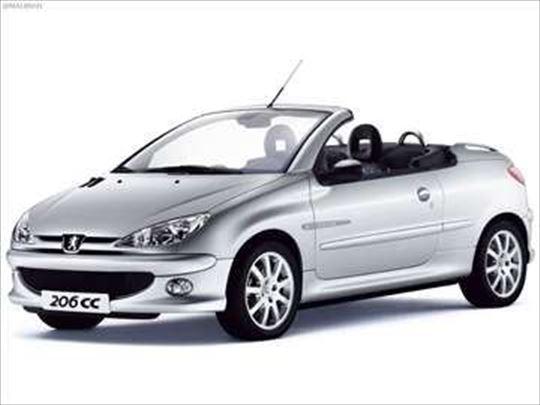Razni i polovni delovi za Peugeot 206 CC 2003