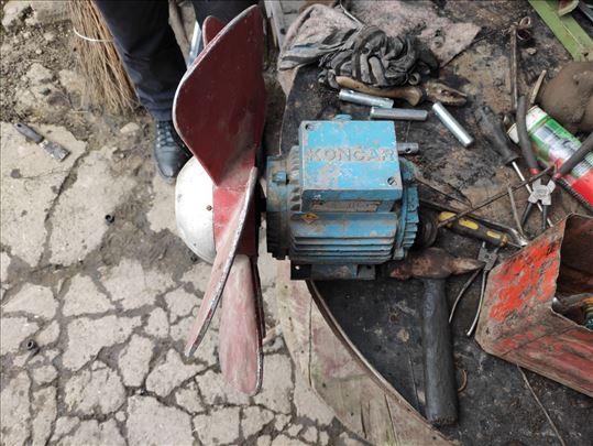 Elektromotor sa perajima