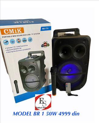 Bluetooth karaoke zvučnici