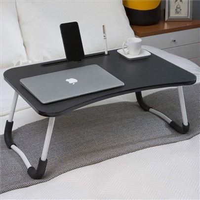 Sto za laptop drveni SKLOPIVI vise boja