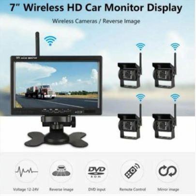 "Monitor 7""+ wIfi 4 bezicne kamere za kamione"