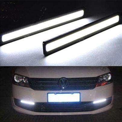 LED COB najjača dnevna svetla 2x17cm PAR