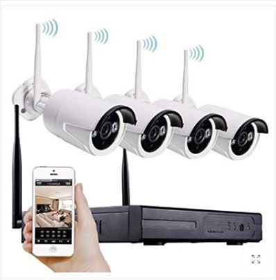 Video nadzor -set od 4 bežične kamere