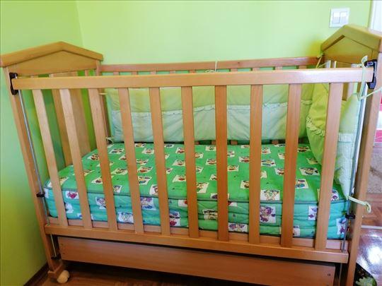 Polovan dečji krevetac