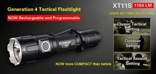 Baterijska lampa Klarus XT11S komplet