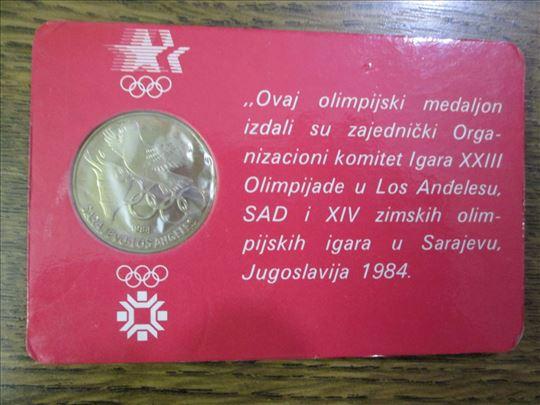 medaljon Olimpijski , Sarajevo 1984