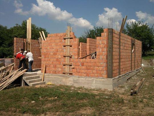 Grubi radovi od temelja do krova