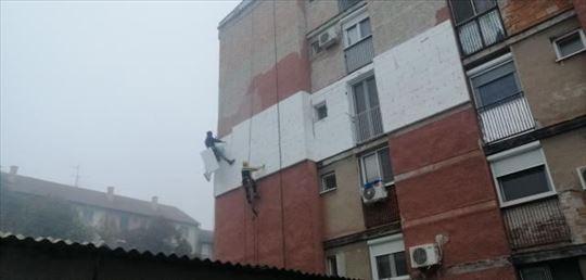 Visinski radovi - alpinista