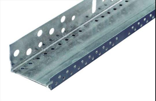 Lajsne - aluminijumske/ugaone/okapne