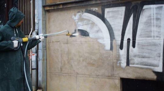 Najtemeljnije uklanjanje grafita i nečistoća