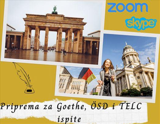 Priprema za polaganje Goethe, TELC i ÖSD ispita