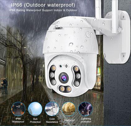 IP WiFi kamere PTZ kamera IP 8Mpix Spoljna A6