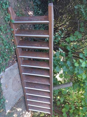 Drvene merdevine stepenice