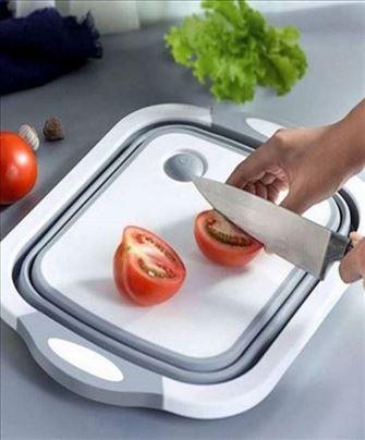 Multifunkcionalna kuhinjska daska za sečenje 3 u1