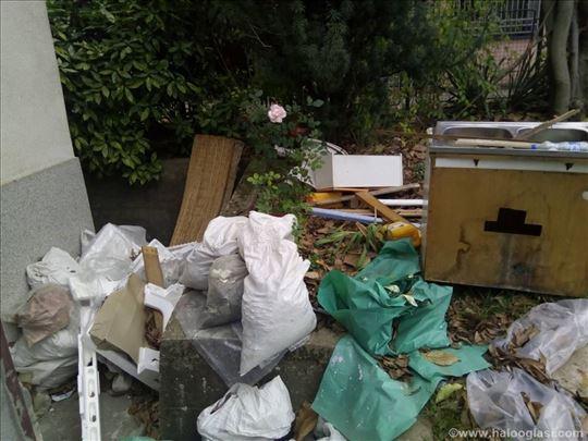 Praznimo podrume stanove kuće tavane garaže šupe
