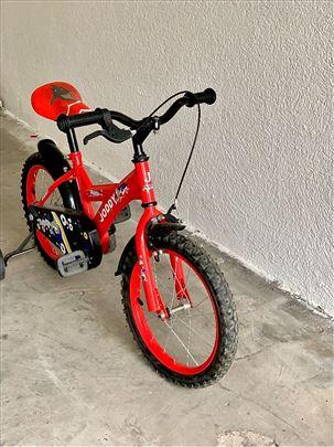 Biciklo sa pomoćnim točkićima za decu