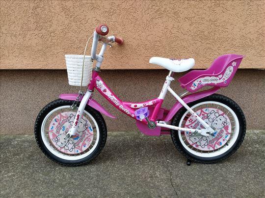 """Deciji bicikl za devojcice Kitty Dolly 16"""""""