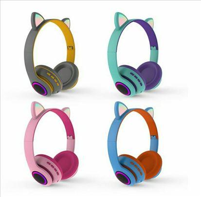 Bluetooth slušalice sa led osvetljenjem(licno NS i