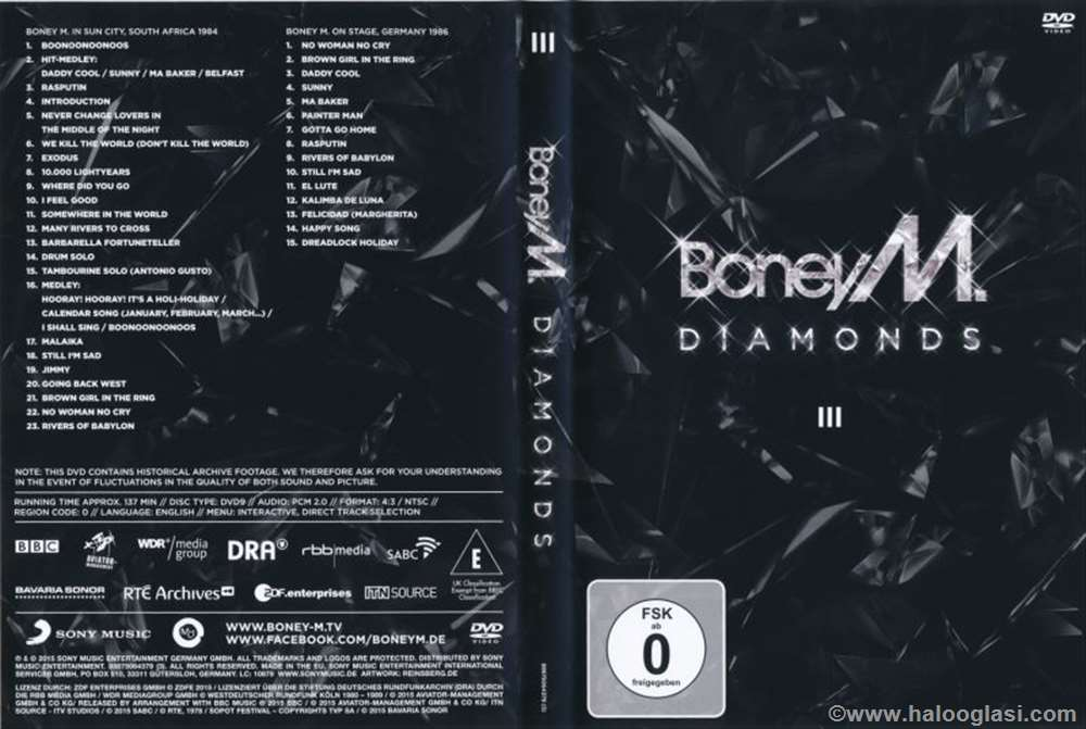 Boney M - Diamonds DVD 3 (DVD 9) | Halo Oglasi