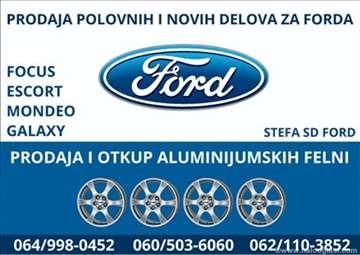 Polovni delovi za Ford vozila