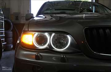 Cob angel eyes prstenovi Bmw X5 e53