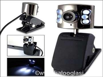Web kamera sa mikrofonom, svetlo, 5MP