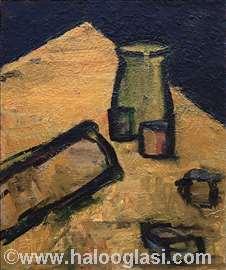 Mrtva priroda, ulje na platnu, 73x61cm