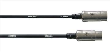 Midi kablovi Cordial 5 Pol Din dužine 3m