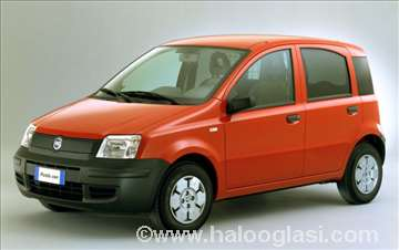 Fiat Panda, nova, amortizeri
