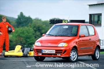 Fiat Seicento 1.1 8V, delovi