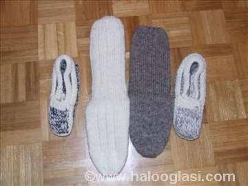 Vunene čarape i patofne