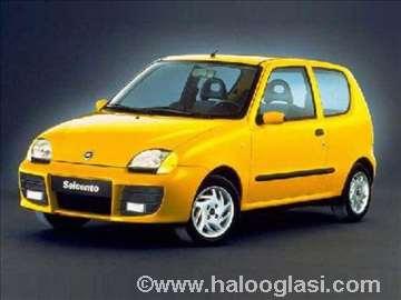 Fiat Seicento 2001-novi karoserijski delovi