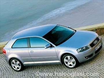 Audi A3 (2003-08) novi karoserijski