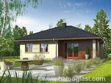 Montažna kuća Domo 7 - Montažne kuće KućaMont