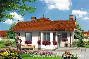 Montažna kuća Domo 30 - Montažne kuće KućaMont