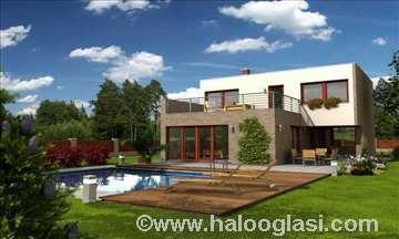 Montažna kuća Modern 7 - Montažne kuće KućaMont