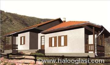 Montažna kuća TIP 127