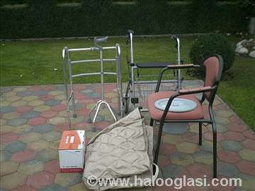 Hodalica, toaletna stolica i AD dušek