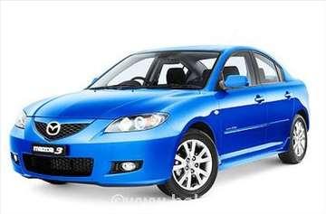 Mazda 3 04-09, novi delovi karoserije