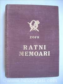 Zofr - Ratni memoari