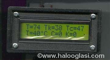 Dupli diferencijalni termostat